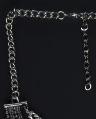 Viva La Vida Layered Statement Necklace In Silver & Multicolour – 2