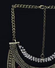 Viva La Vida Layered Statement Necklace In Gold – 2
