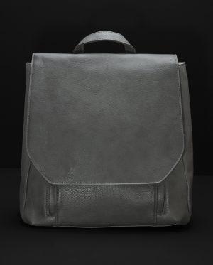 Eden Sleek Monochrome Backpack In Grey