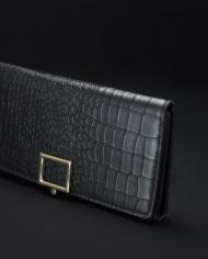 Girl On The Go Monochrome Wallet In Black – 1