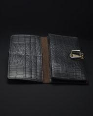 Girl On The Go Monochrome Wallet In Black – 3