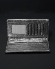 Taos Studded Metallic Wallet In Silver – 3