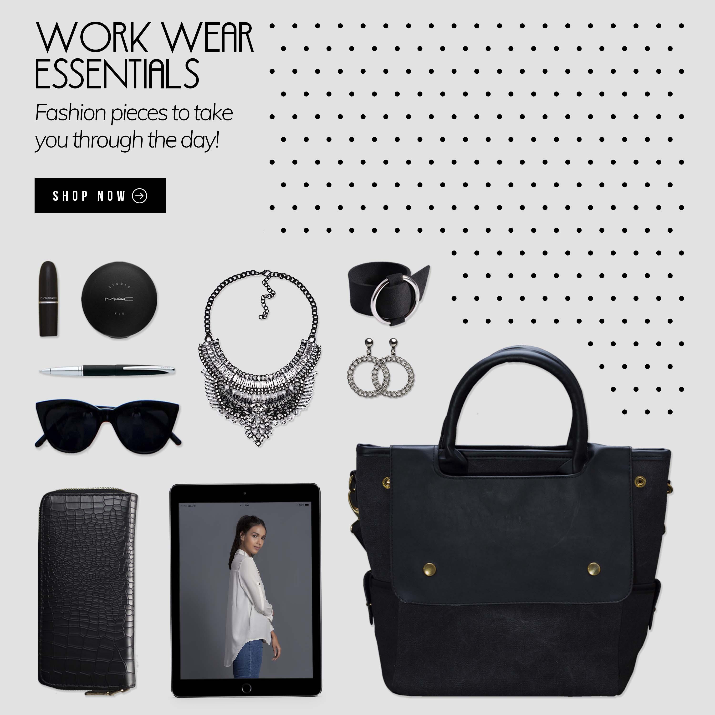 And Other Essentials • Homepage - Slider - Work Wear Essentials